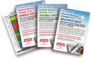 Donald Schlesinger's Blackjack Basic Strategy Cards